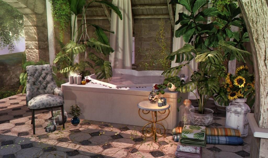 The Outdoor Bath house