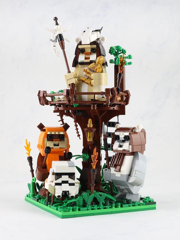 LEGO Star Wars MOC Ewoks Family