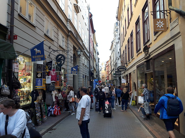 Shoppingstraat Gamla Stan