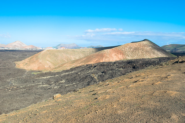 Panorama dalla Caldera Blanca
