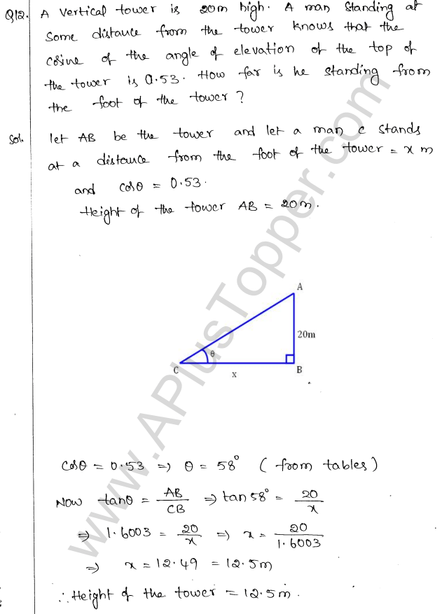 ml-aggarwal-icse-solutions-for-class-10-maths-chapter-21-heights-and-distances-11