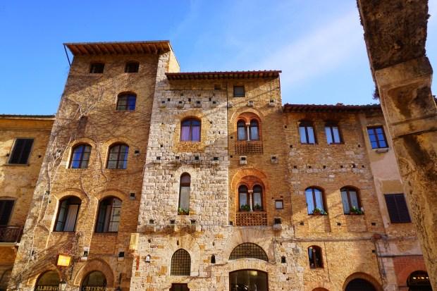 Houses in San Gimignano