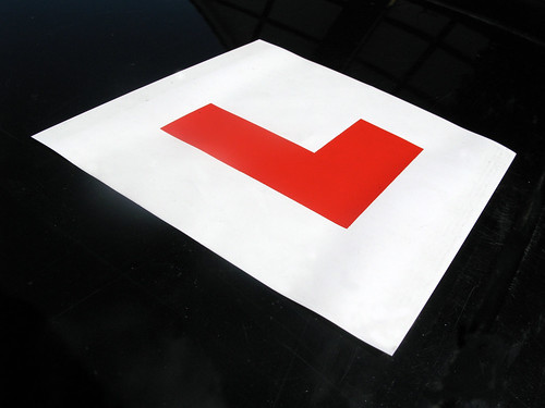 Learner plate image by Michael Summers
