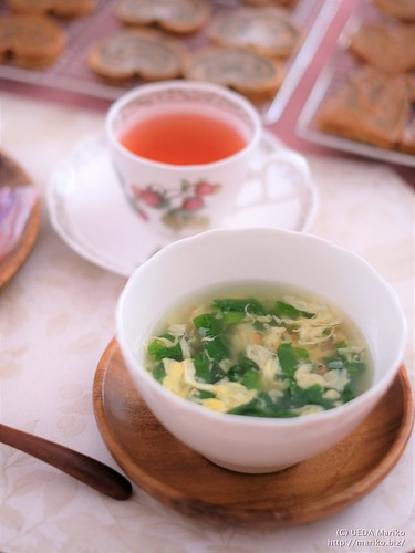 菜の花と桜エビの卵スープ 20180328-DSCT8881 (2)