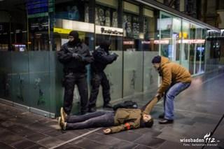 Anti-Terror-Übung Frankfurt HBf 20.03.18