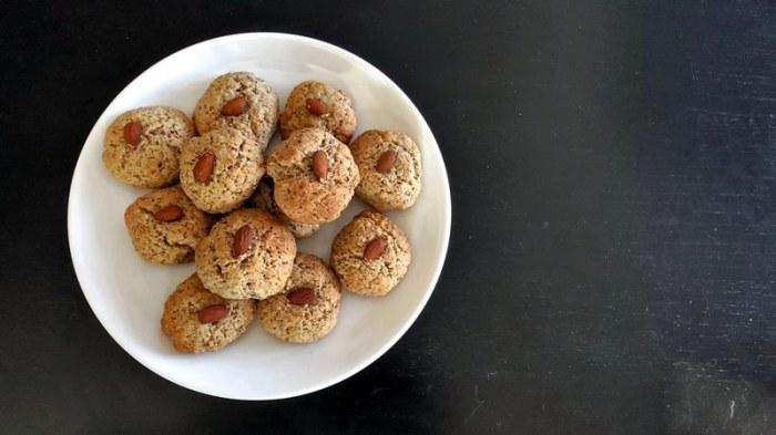 Итальянское миндальное печенье