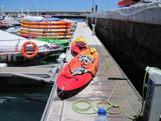 Excursión en kayak en Tenerife
