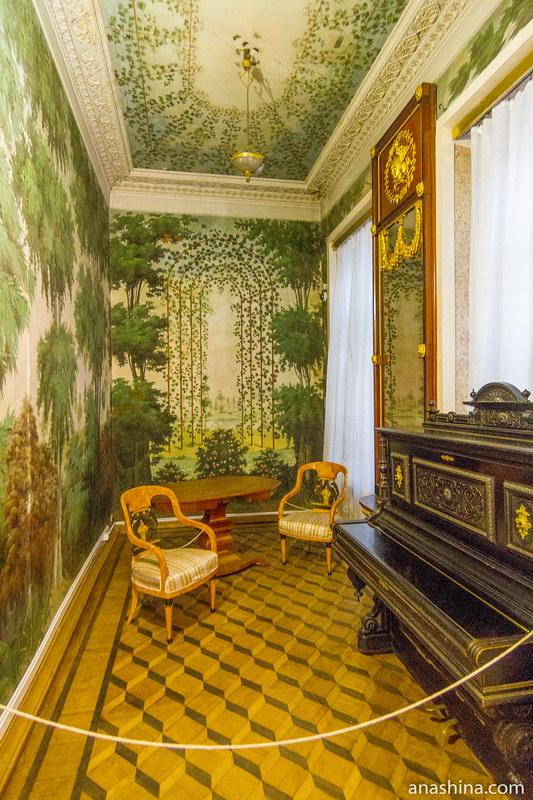 Боскетная комната, усадьба Золотарева, Калуга