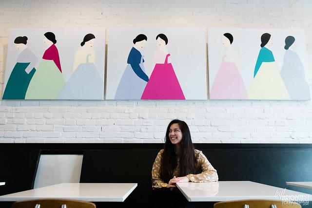 Julia Chon at Maketto