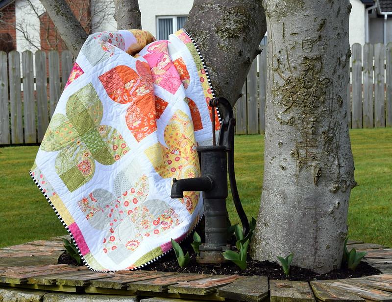 Butterfly Garden DP Quilt (class project)