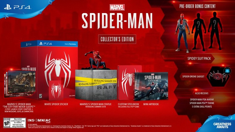 Marvel's Spider Man Collector's Edition