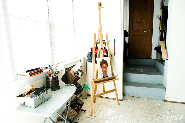 Inside the Artist Studio