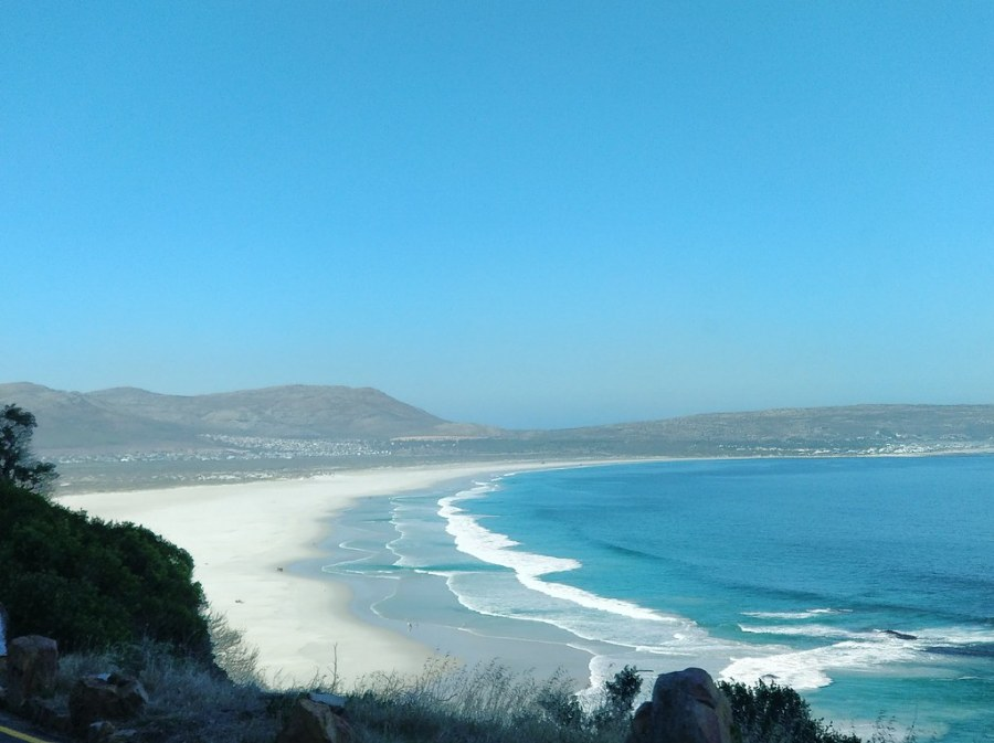 Cape Town South Africa Travel Blog Noordhoek Beach Pristine Sand