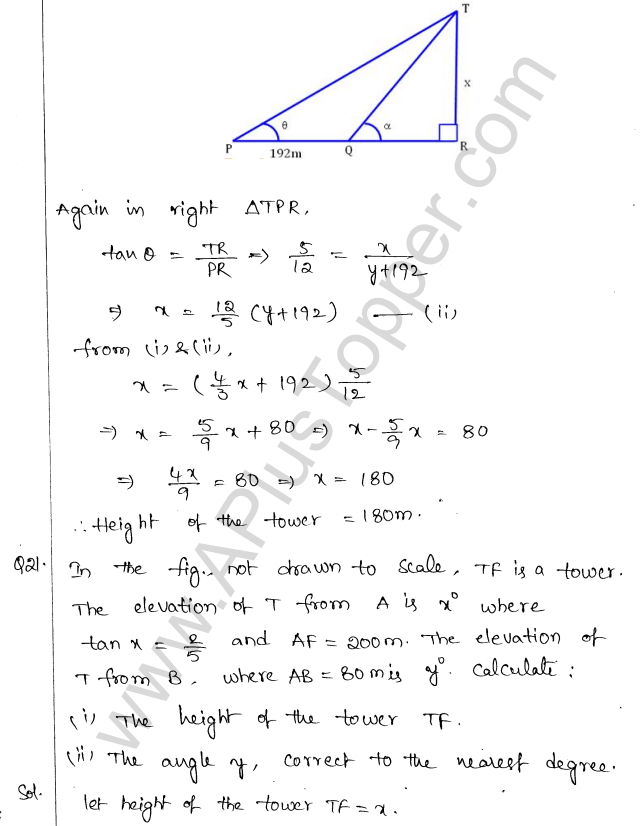 ml-aggarwal-icse-solutions-for-class-10-maths-chapter-21-heights-and-distances-20