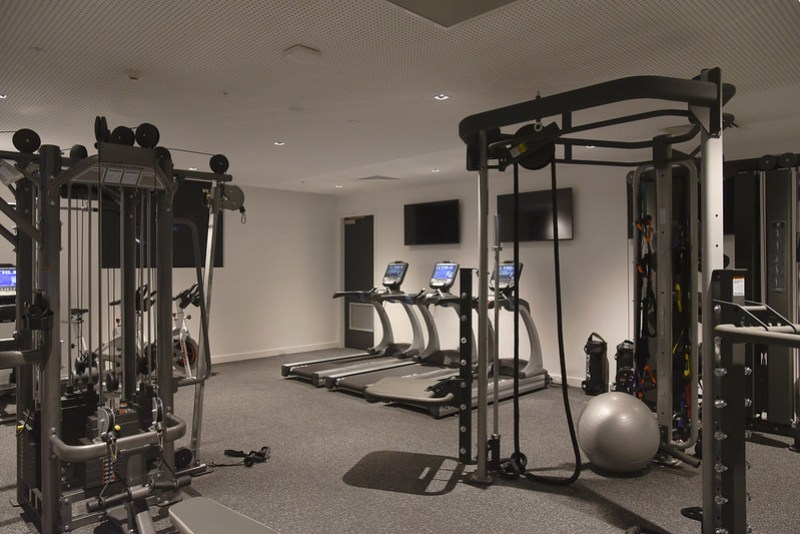 fitness centre - novotel melbourne south wharf
