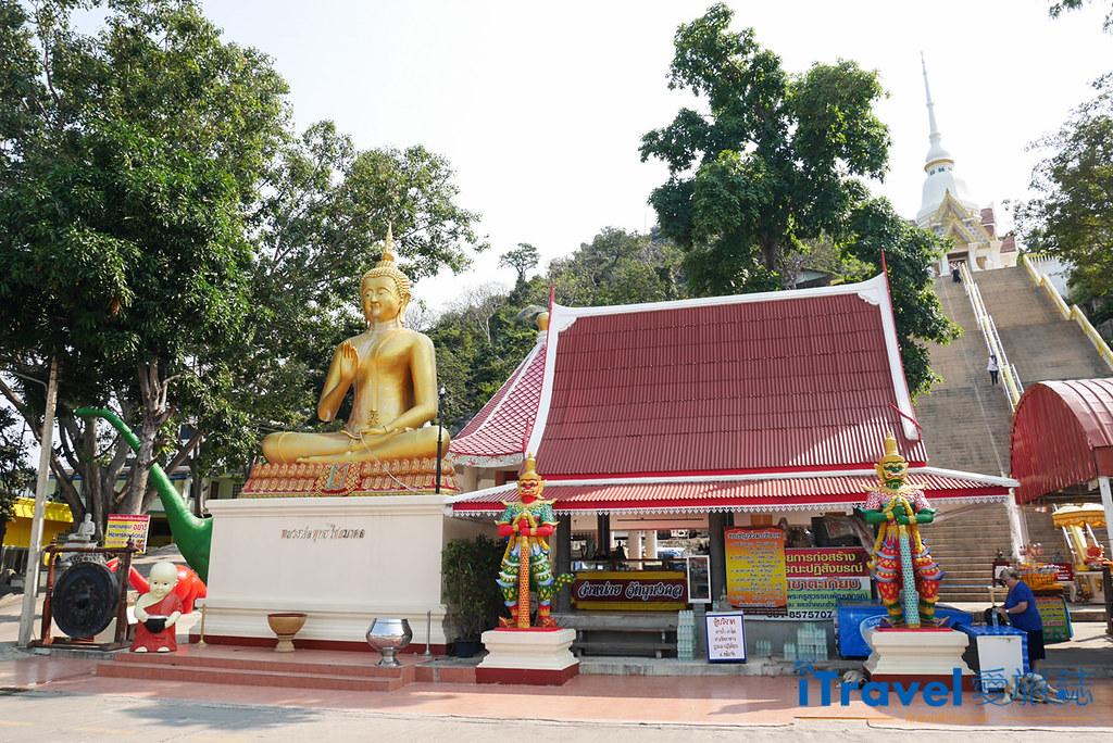 华欣景点推荐 考佬寺Wat Khao Takiap (1)