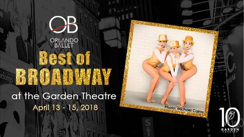 """Orlando Ballet's """"Best of Broadway"""" at the Garden Theatre"""
