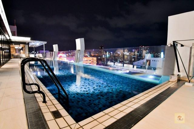 WBF水之都那霸酒店, 沖繩住宿推薦,沖繩飯店推薦, 沖繩便宜飯店, 無邊際游泳池