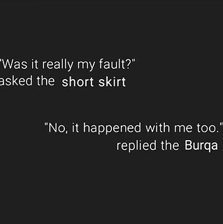 skirt or Burqa #StillNotAskingForIt