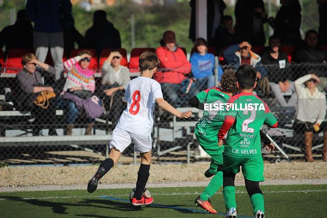 Sevilla FC 11-2 CD Gelves (3ª Andaluza Benjamín G.4 - SE J27)