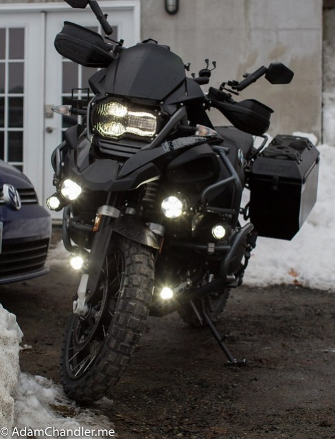 BMW R1200GS Clearwater Erica  + Darla  100 + High beam