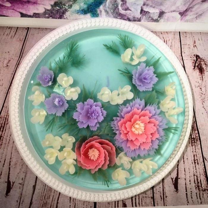 Сью Хенг Бун. Невероятные 3D торты из желе.