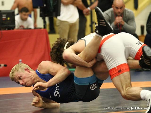 57  Daton Fix (Titan Mercury Wrestling Club) VSU Zach Sanders (Minnesota Storm), 10-0 2:00. 180519CJF0010