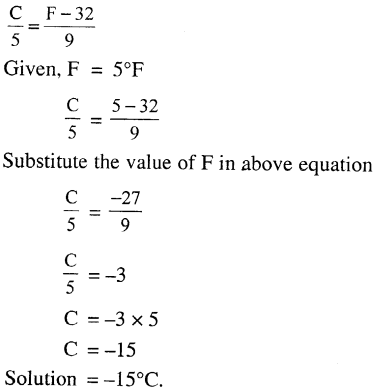 Selina Concise Physics Class 7 ICSE Solutions - Heat 18.1