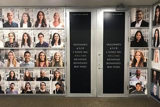 Daniel Wellington Photo Wall