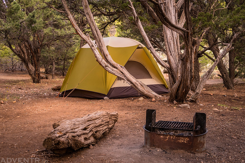 North Rim Campsite