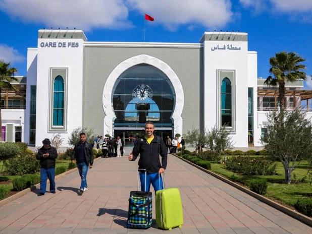 Llegada a Fez