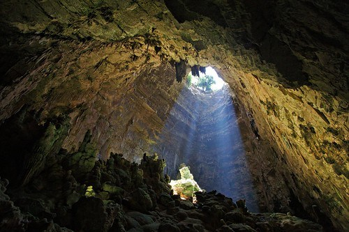 Light in the cave