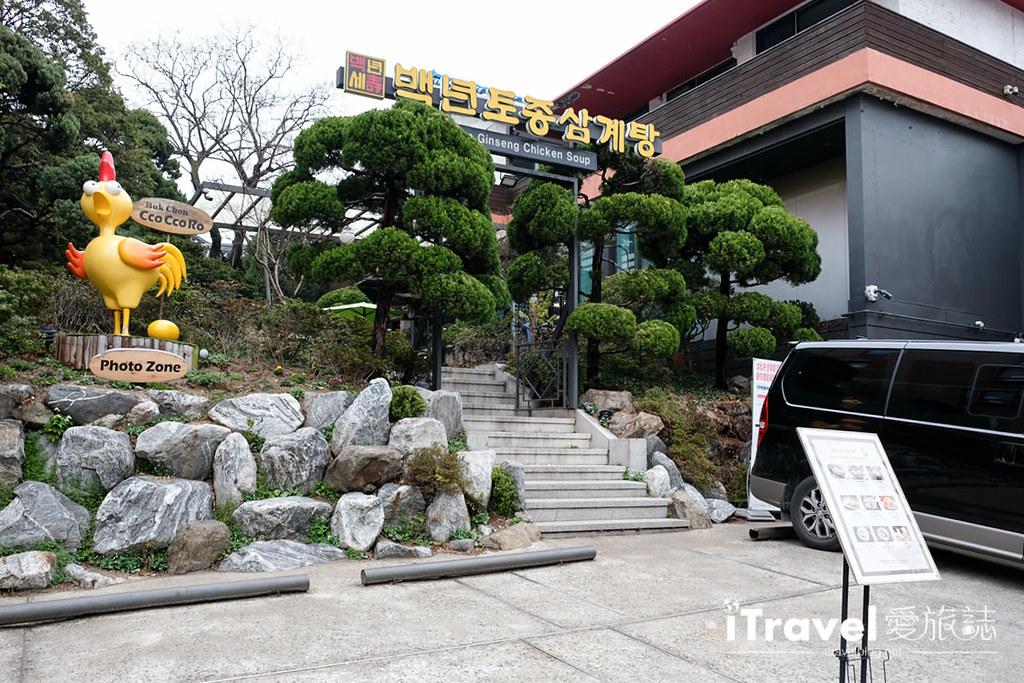 首尔美食餐厅 北村百年土种蔘鸡汤 (2)