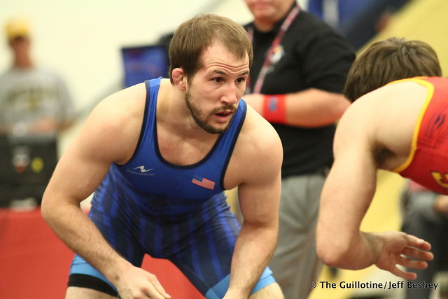 65kg: Jaydin Eierman (Titan Mercury) vs Logan Stieber (Titan Mercury). 180520AJF0072