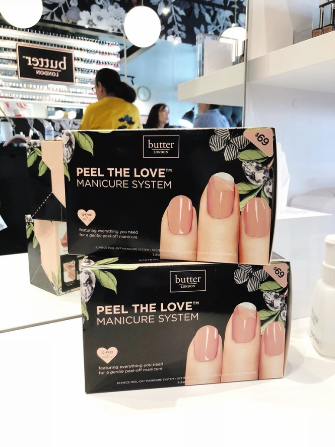 Butter London PURECURE peel off gel manicure review
