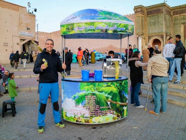 Plaza principal de Meknes