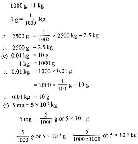 Selina Concise Physics Class 6 ICSE Solutions - Physical