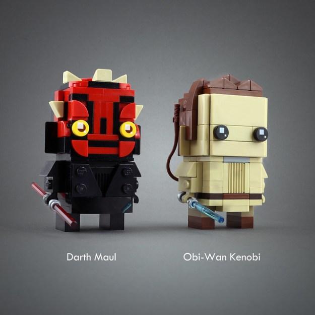 Darth Maul & Obi-Wan