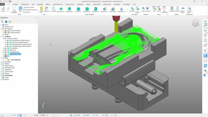 Machining with Autodesk PowerMill Ultimate 2019 full license