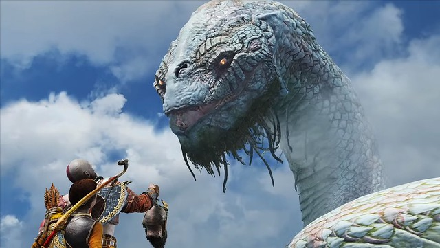 God of War (2018) - The World Serpent