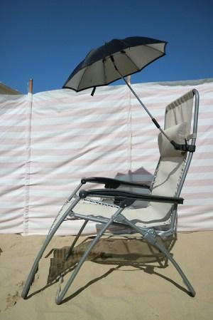parasol strandstoel