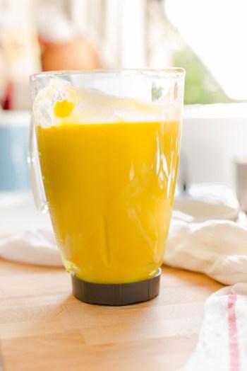 Mango Coconut Milk Ice Cream
