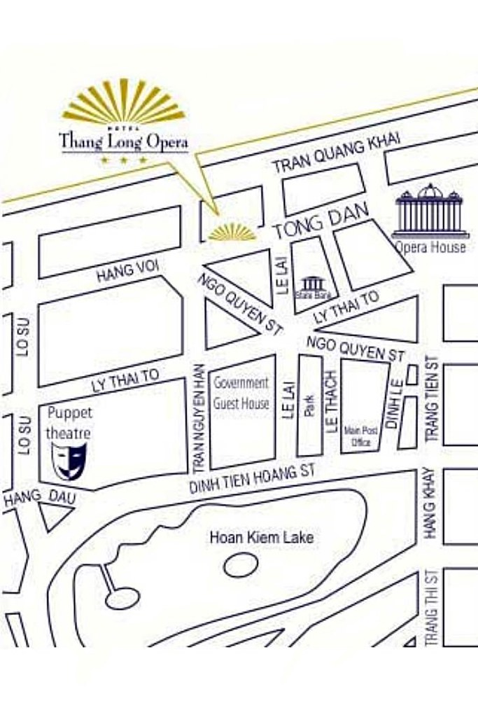 Thang Long Opera Hotel Map