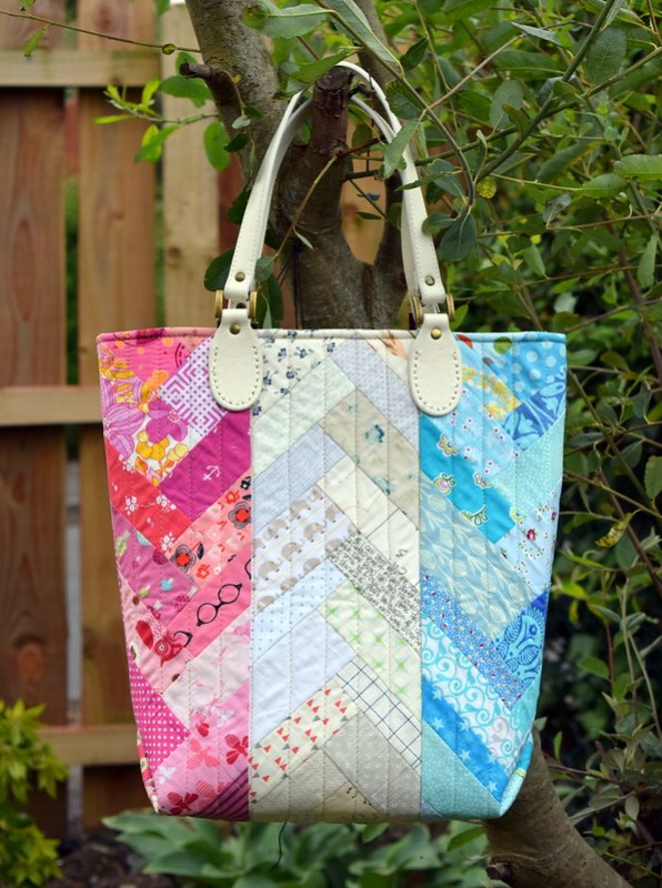 Scrappy French Braid Bag (workshop)