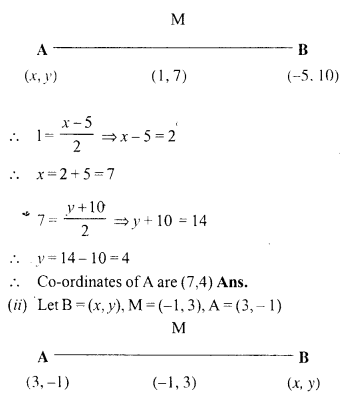 Selina Concise Mathematics Class 10 ICSE Solutions Chapter 13 Section and Mid-Point Formula Ex 13B 4