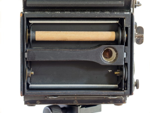Auto Graflex Single Lens Reflex camera roll film back