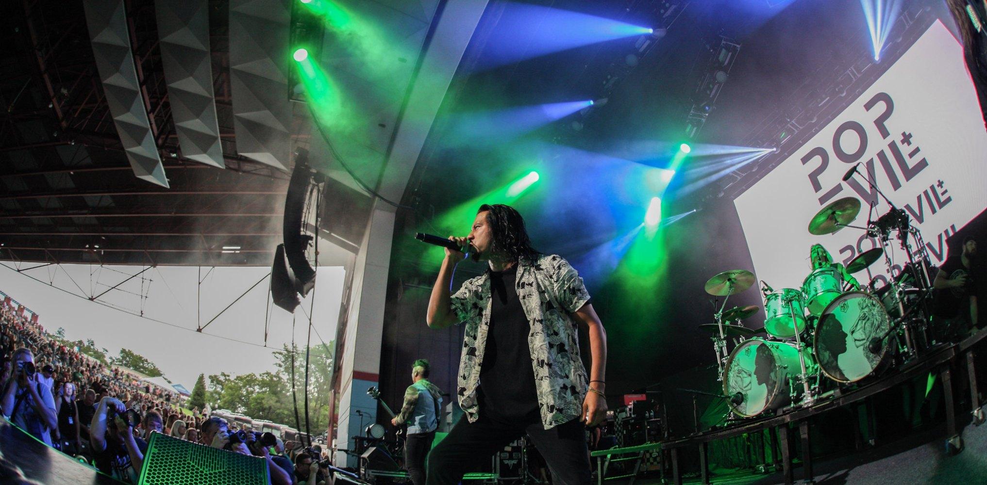 Pop Evil - Riverbend Music Center Cincinnati, OH - June 2018
