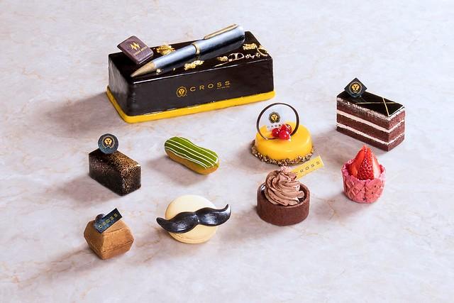 凱達大飯店-CROSS聯名蛋糕及父親節甜點