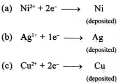 ICSE Solutions for Class 10 chemistry Electrolysis 24