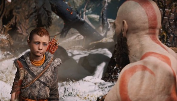 God of War (2018) - It Was At That Moment Atreus Knew